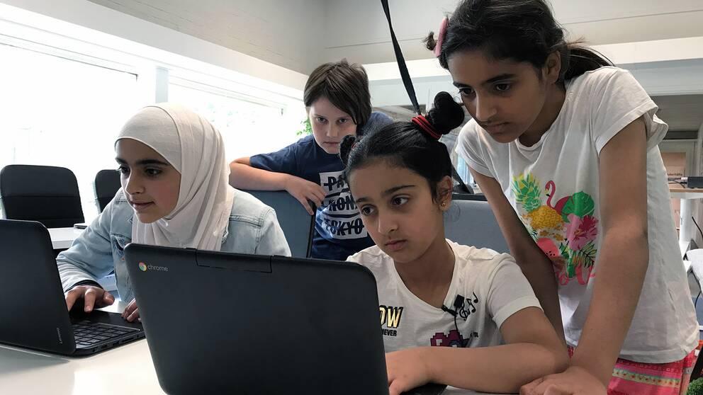 Flera av de unga deltagarna berättar att de tror att kunskaperna kommer vara viktiga i framtiden.
