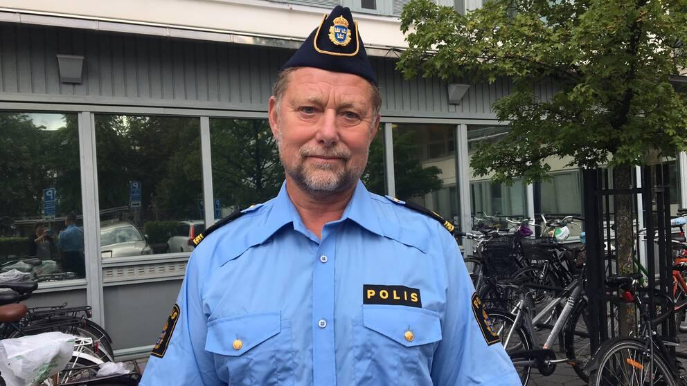 Anders Sjöberg är kommunikatör vid polisen i Örebro.