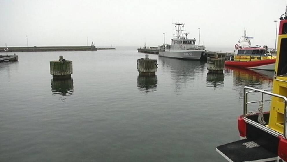 Ubåtshamnen i Fårösund