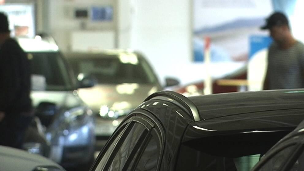 bilar, bilhandlare