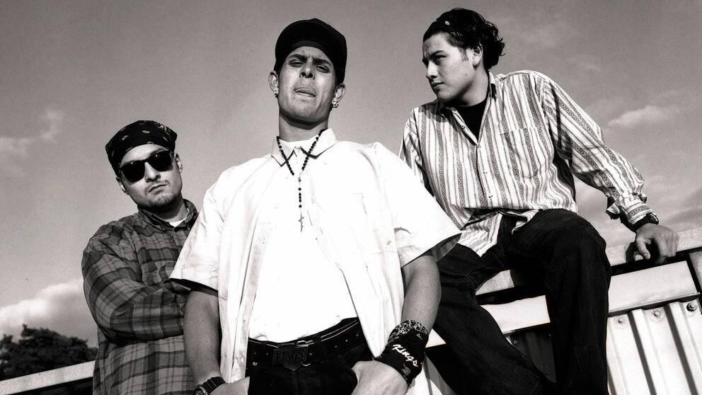 """1994 släppte The Latin Kings sitt banbrytande debutalbum """"Välkommen till förorten""""."""