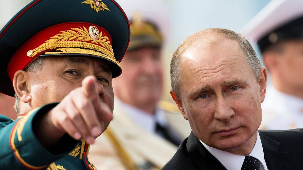 Ryssland stodjer inte syrien insats