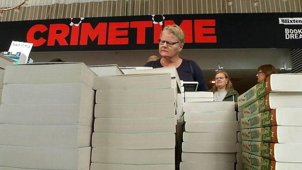 Bild från deckarfestivalen Crimetime 2017 på Gotland