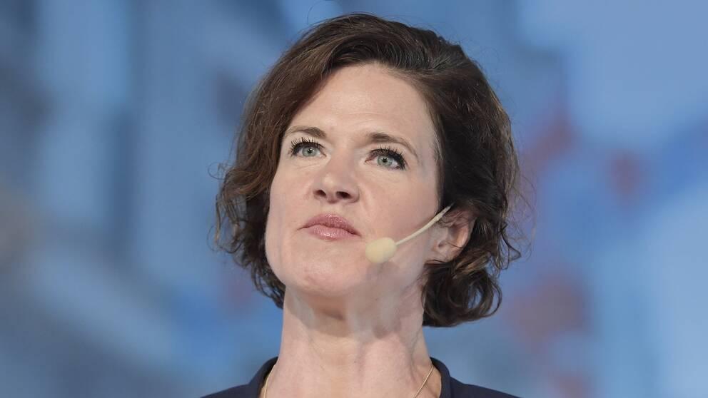 Moderaternas ledare Anna Kinberg Batra.