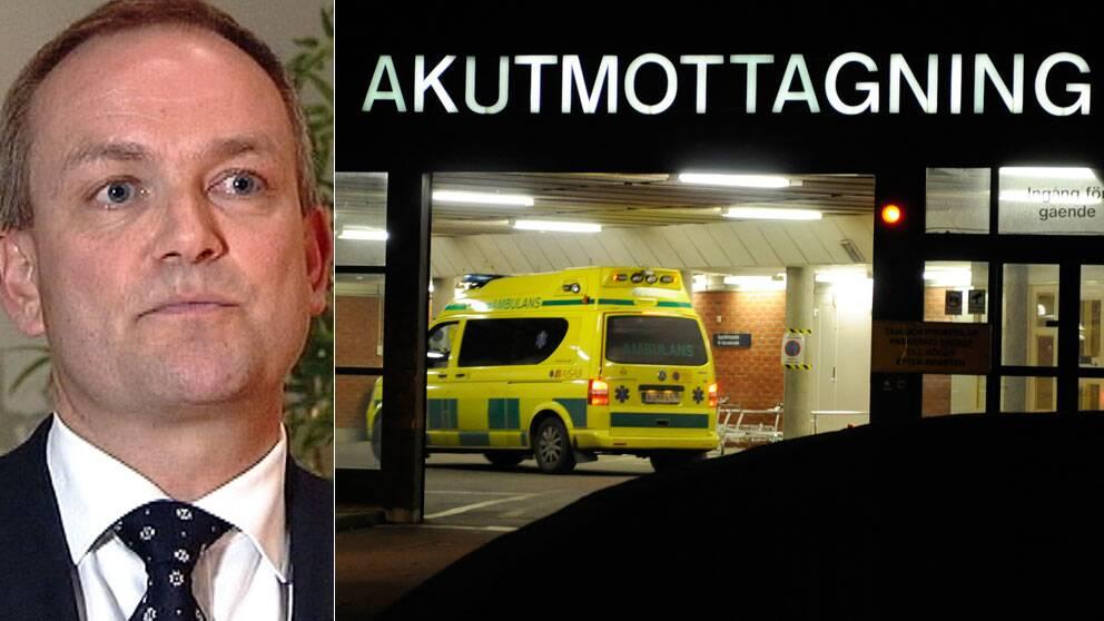 Lars Terney, partner på riskkapitalbolaget Nordic Capital. Foto: SVT/Scanpix