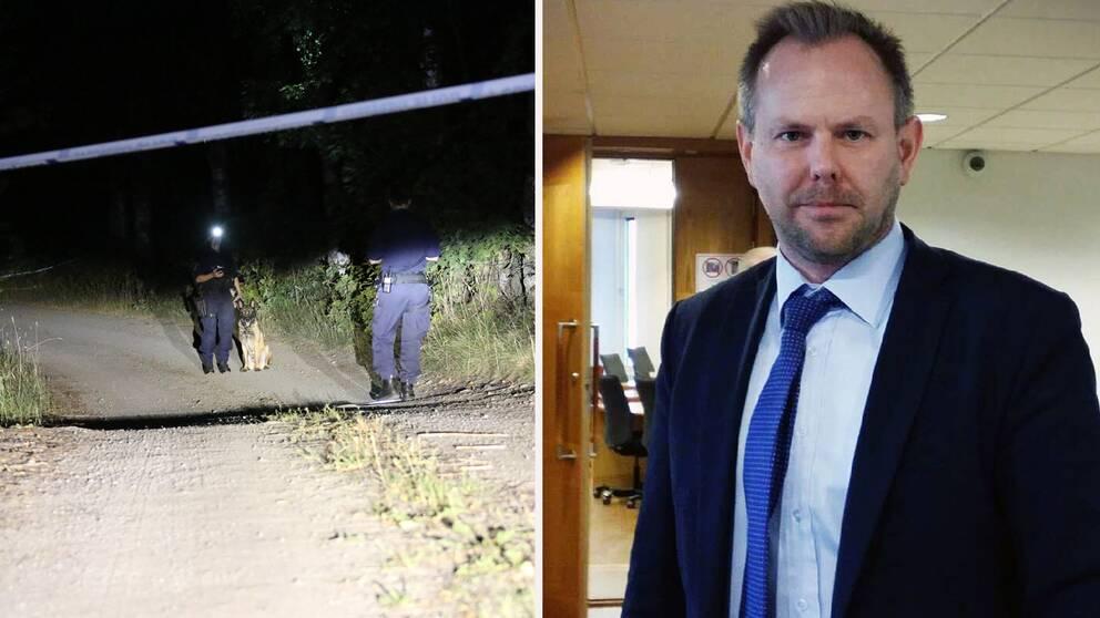 Thomas Bälter Nordenman, åklagare i mordfallet i Enköping