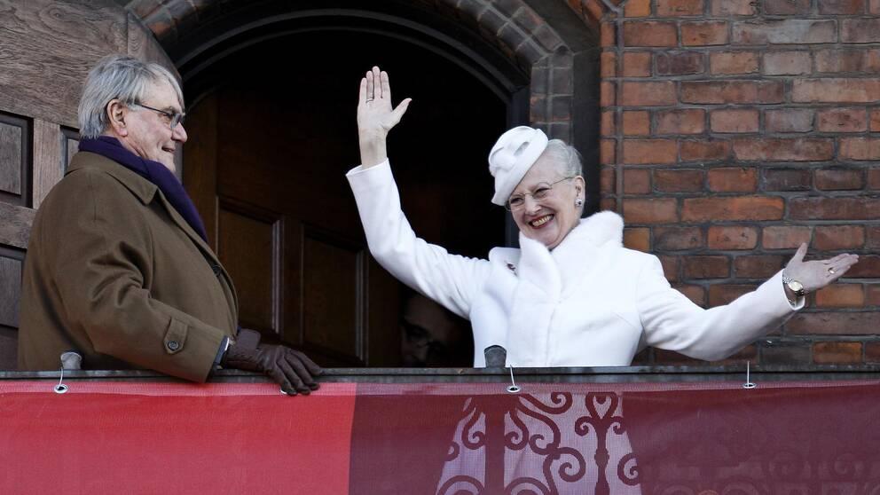 Prins Henrik och drottning Margrethe