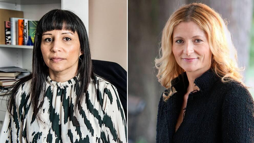 Rosanna Dinamarca polisanmäler författaren Katerina Janouch efter bildpubliceringar i sociala medier.