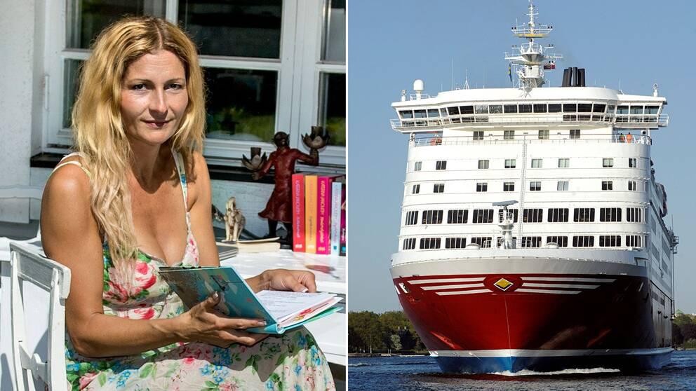 Viking Line bryter allt samarbete med Katerina Janouch efter konflikten med Rossana Dinamarca.