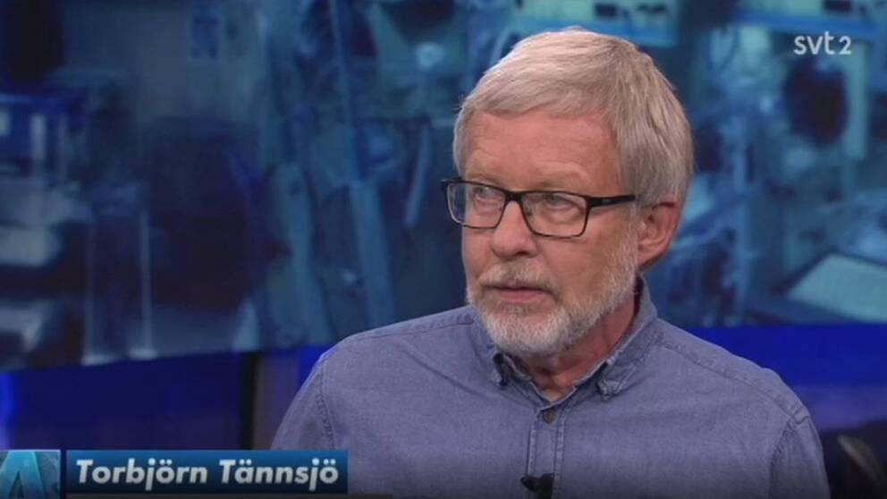Torbjörn Tännsjö, professor i medicinsk etik vid Karolinska institutet.