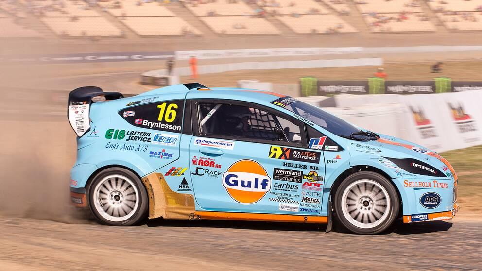 Thomas Bryntesson leder RallyX Nordic inför omstarten i Danmark.