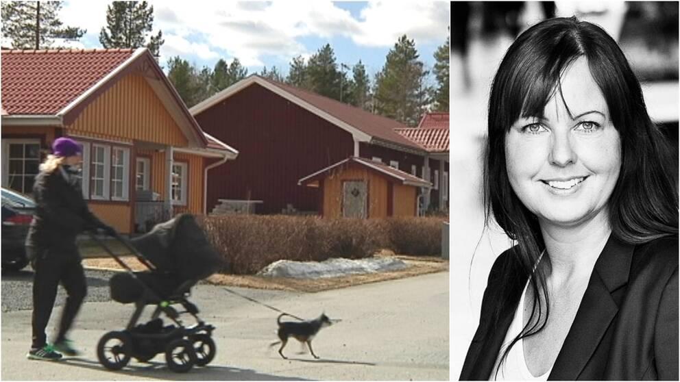 Charlotta Mellander, professor i nationalekonomi vid Handelshögskolan i Jönköping.