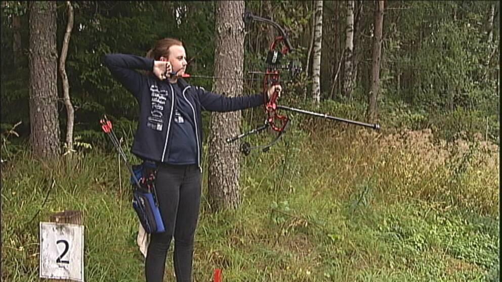 Caroline Käck är uttagen till EM i bågskytte i Slovenien