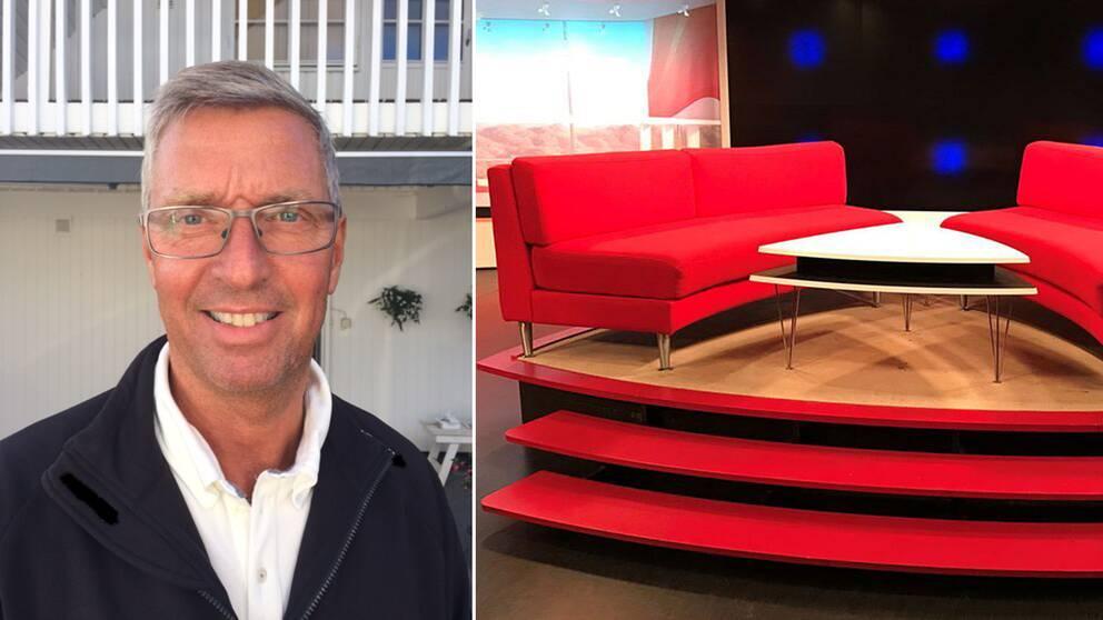 Peter Ribbing, 59, kammade hem SVT:s morgonsoffa.