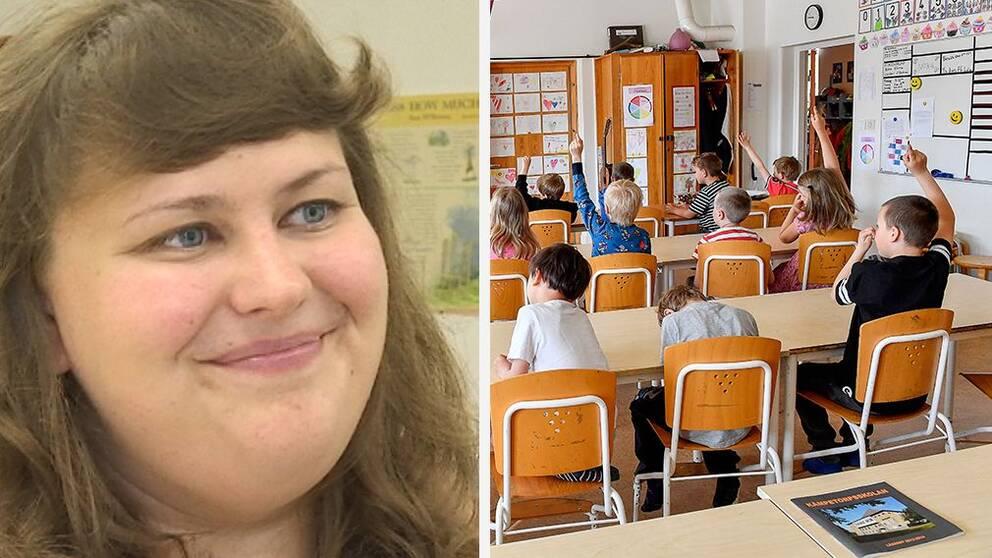 Ann Sofie Kunell, lärare från Finland