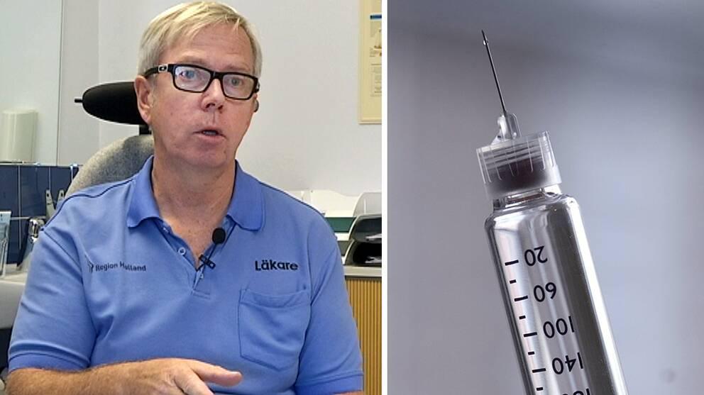 Jesper Fowelin är diabetesöverläkare på Kungsbacka sjukhus.
