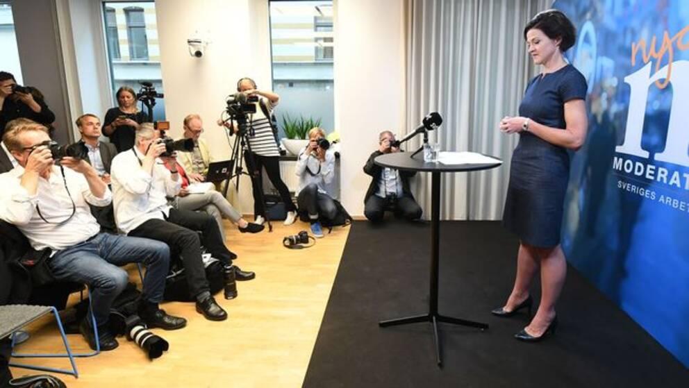 Anna Kinberg Batra avgår som M-ledare