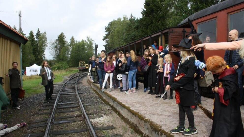 Hogwartsexpressen i Marielund 2016.