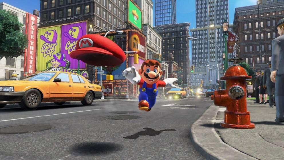 Super Mario återvänder i oktober.