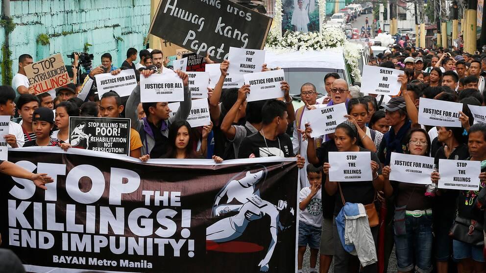 Protestanter i Manila.