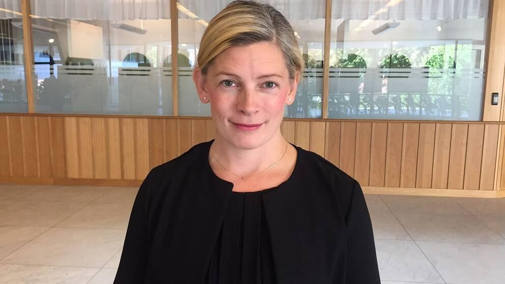 Anna af Sillén (M), oppositionsråd i Nyköpings kommun.