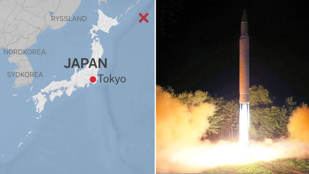 Nordkorea hotar amerikanska baser