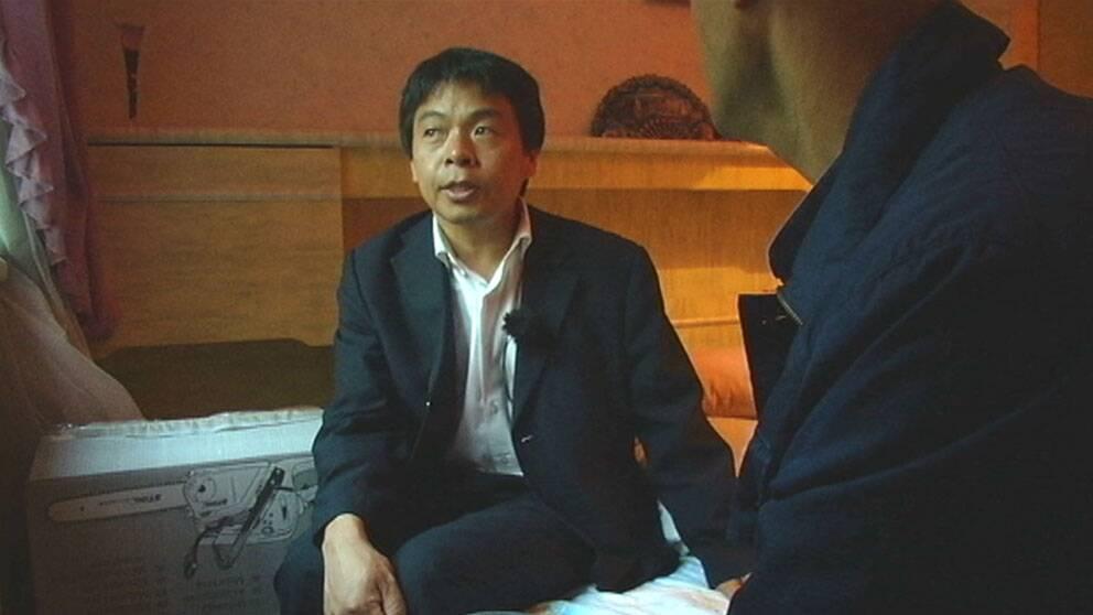 Kinesisk dissidents familj far asyl