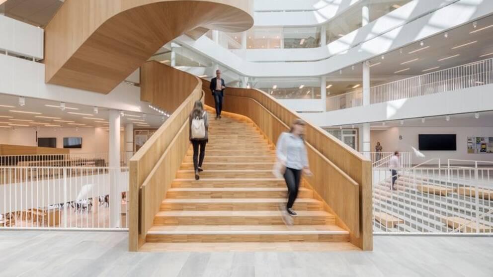 Segerstedthuset ska vara ett öppet och tillgängligt hus, enligt den danska arkitektbyrån 3XN.