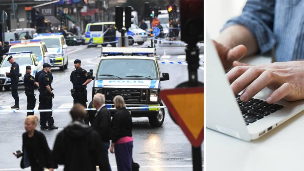 Under torsdagen utsattes polisen i Stockholm för två mordförsök. Detta fick en polis att skriva ett emotionellt inlägg om sin vardag.
