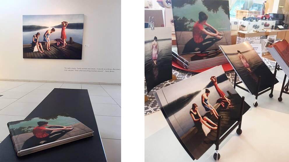 Målningar av Karin Broos