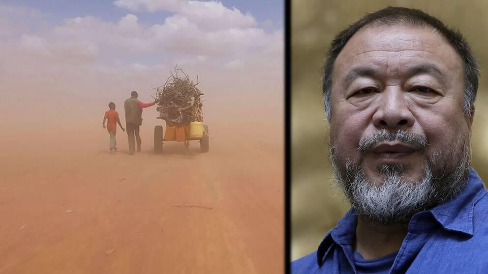 Konststjärnan Ai Weiwei har gjort en dokumentärfilm om flyktingkrisen.