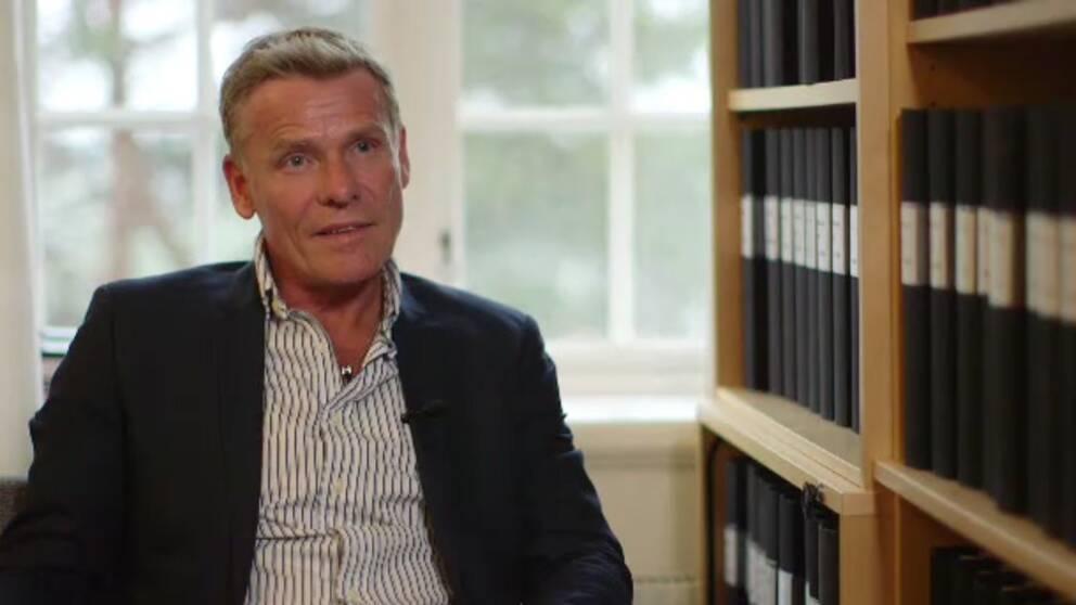 Bild på Jan Staaf, chef för utredningssektionen vid polisen i Östergötland.