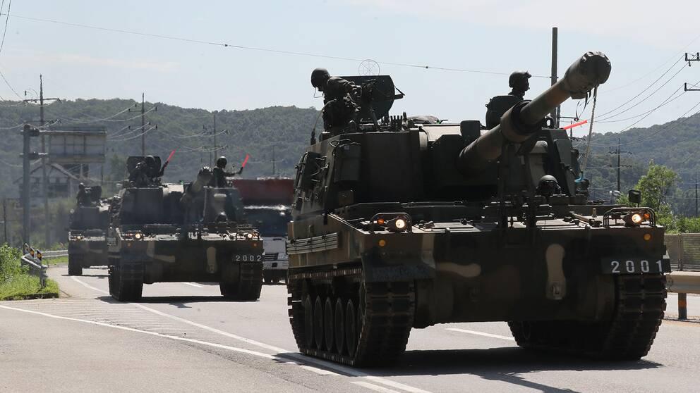 Bollsport pa testanlaggning for karnvapen