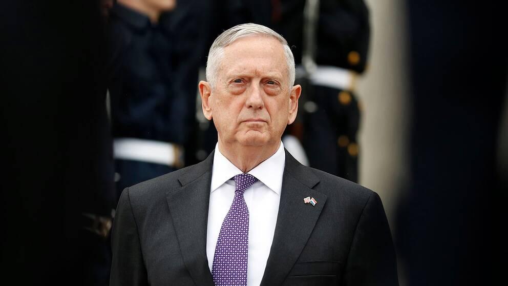 USA:s försvarsminister Jim Mattis.