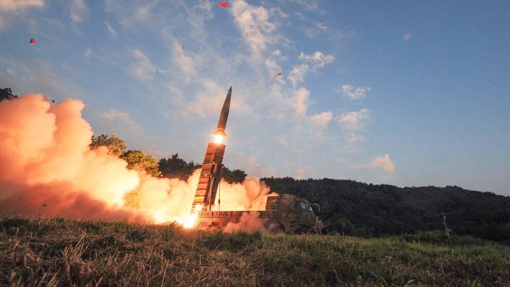 Nord och sydkorea skot mot varandra 3
