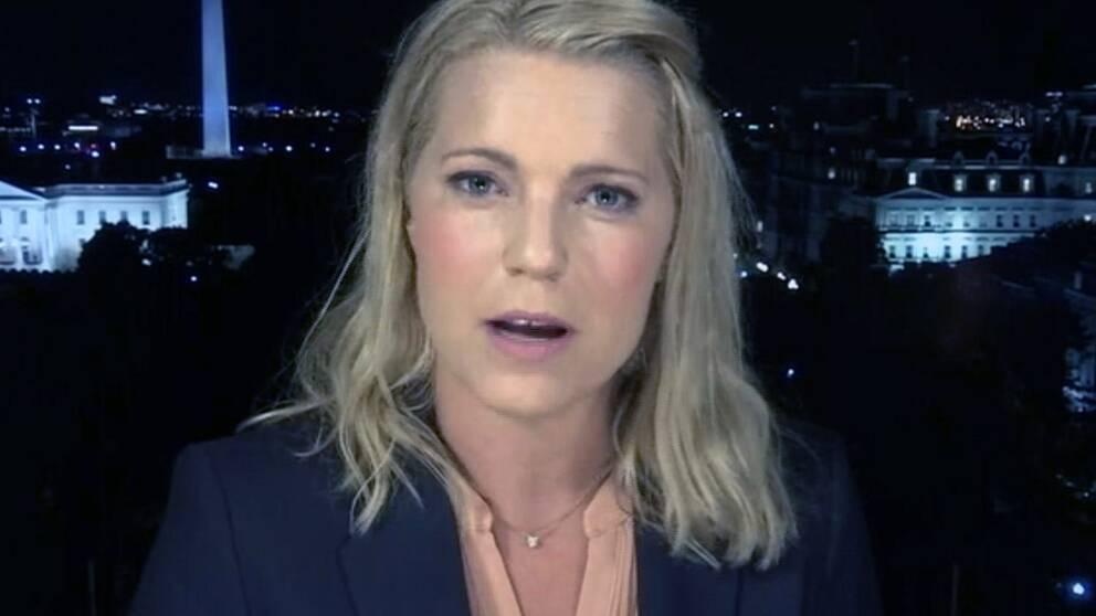 SVT:s USA-korrespondent Carina Bergfeldt.
