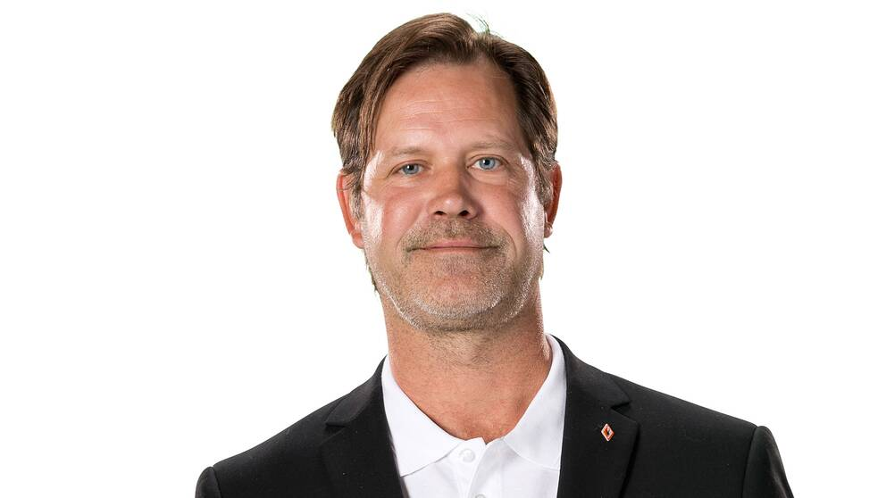 Patric Larsson, sportchef i KHK.