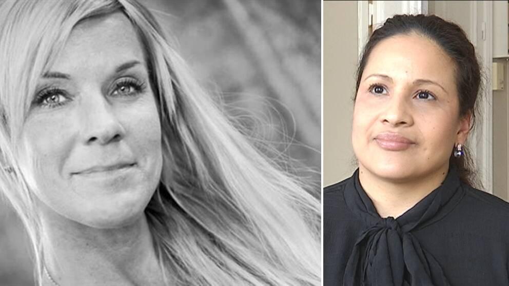 Lotta Rudholm och Maria Hallenius Henrysson