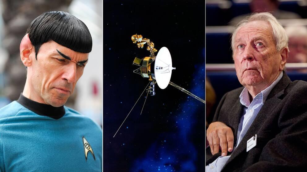 Star Trek och Tomas Tranströmer är två exempel på kultur som skickats ut på rymdexpeditioner.