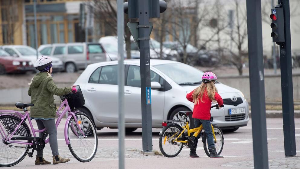 Faror for barn i trafiken