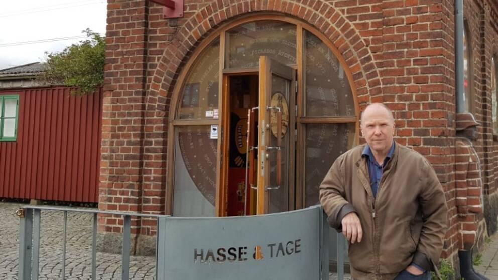 Figge Bergquist är en av de som minns Hans Alfredsson.