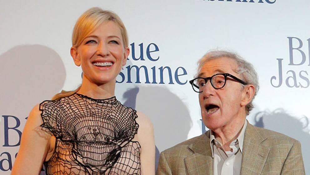 Cate Blanchett och Woody Allen.