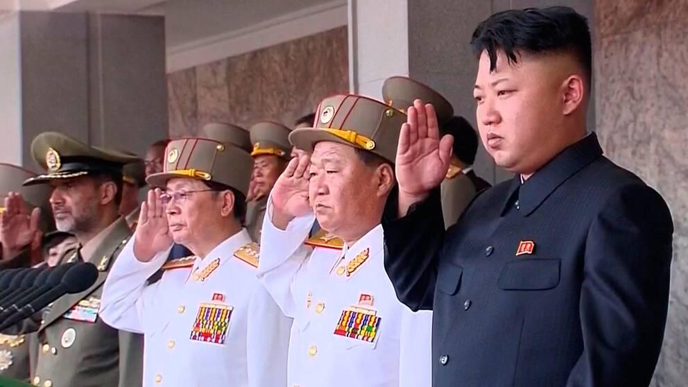 Urvattnat fn hot mot nordkorea