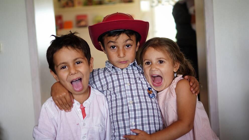 Syskonpar fick 4 barn