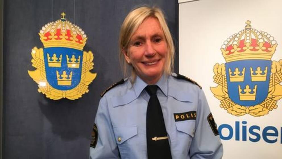 Carin Götblad, regionpolischef