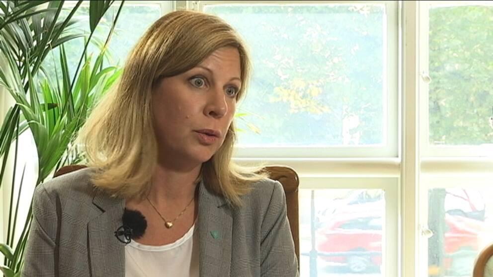Christina Kiernan, samordnare mot våldsbejakande extremism Stockholm