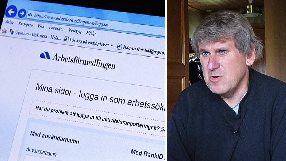 Ronnie Lundin arbetssökande Gotland