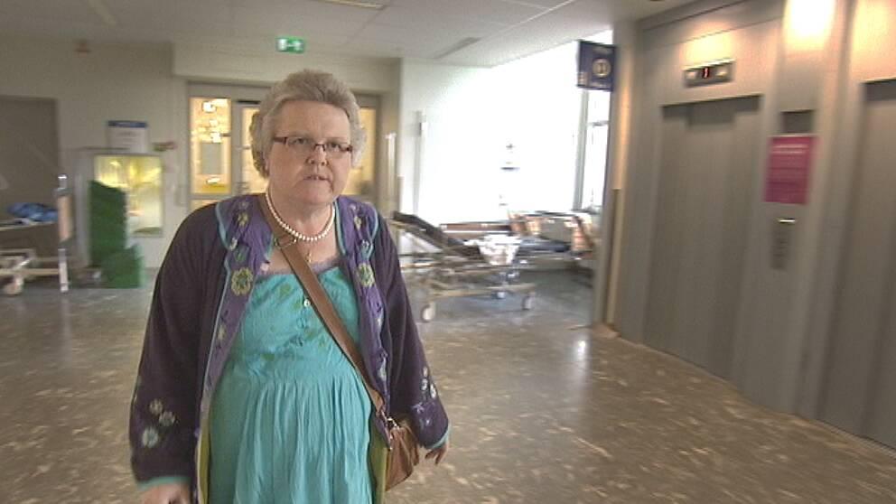 52-åriga narkossjuksköterskan Katarina Ramsberg Enegren fick både diabetes och bröstcancer.