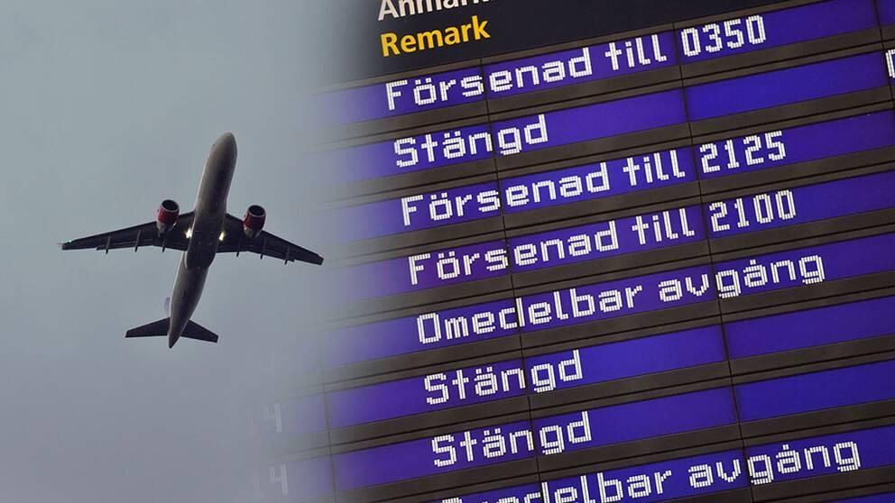 Forsening da far flygbolaget betala 3