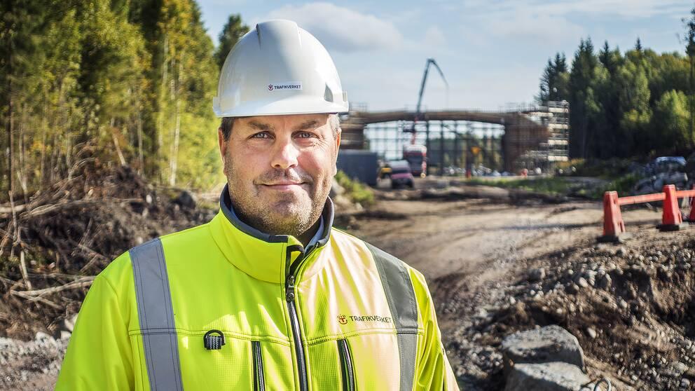 Magnus Gilijam är Trafikverkets projektledare för järnvägen mellan Kilafors och Söderhamn.